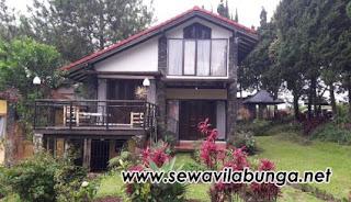 Villa Murah di lembang untuk keluarga nuansa pegunungan