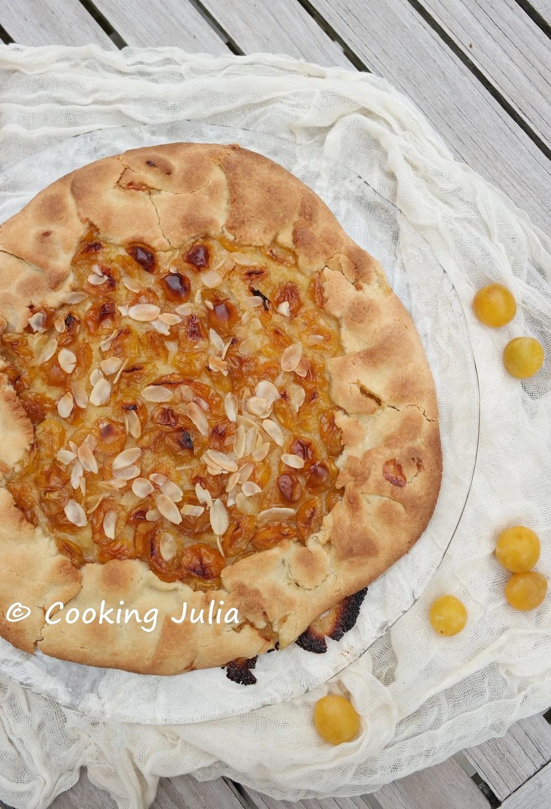cooking julia tarte rustique aux mirabelles. Black Bedroom Furniture Sets. Home Design Ideas