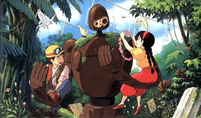 Película de Studio Ghibli El castillo en el cielo dirigida por Hayao Miyazaki en el año 1986