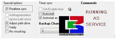 cara sinkronasi pc menggunakan softwwaregratis Dsyncronize