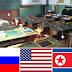 E se Estados Unidos, Rússia e Coreia de Norte fossem alunos de uma escola? Confira!