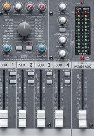 Fungsi Tombol Pemutar, Jacks, Switch dan Indicator Display pada Mixer