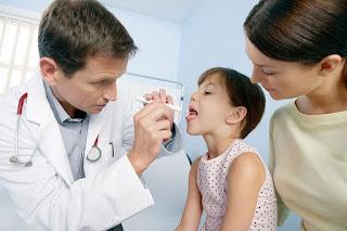 Thuốc chữa viêm amidan quá phát ở trẻ em