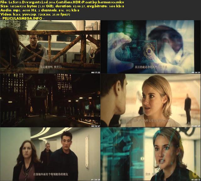 Descargar La serie Divergente: Leal Castellano por MEGA.