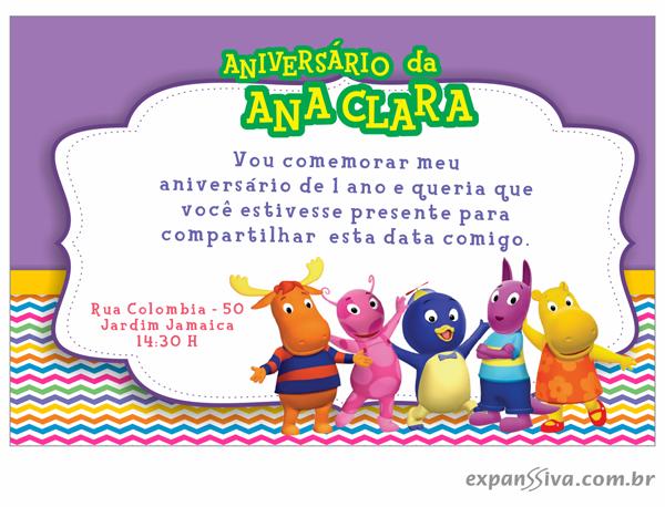 modelos deconvites de aniversario infantil Backyardigans %2B07 - Convites de Aniversário Infantil Backyardigans