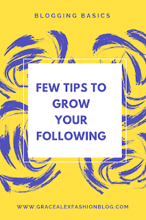 FEW TIPS TO GROW YOUR FOLLOWING BASE ORGANICALLY