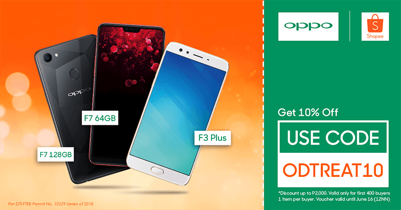 Sale Alert: Select OPPO smartphones are 10 percent cheap at Shopee until June 16!
