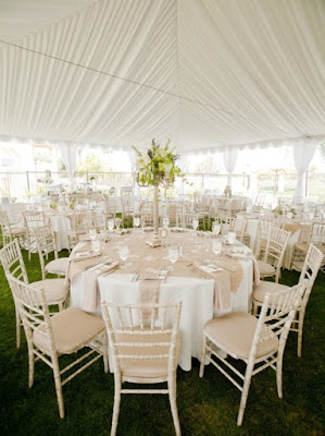Decorating A Wedding Tent To Make The Event Memorable