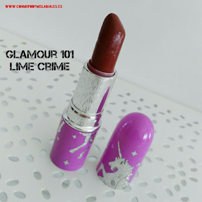 Glamour 101 Lime Crime