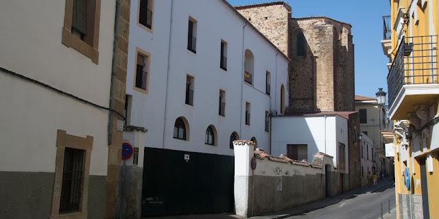 Cáceres convento de santo Domingo
