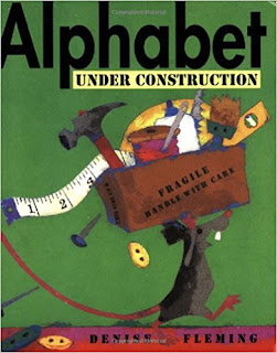 alphabet under construciton mouse alphabet book