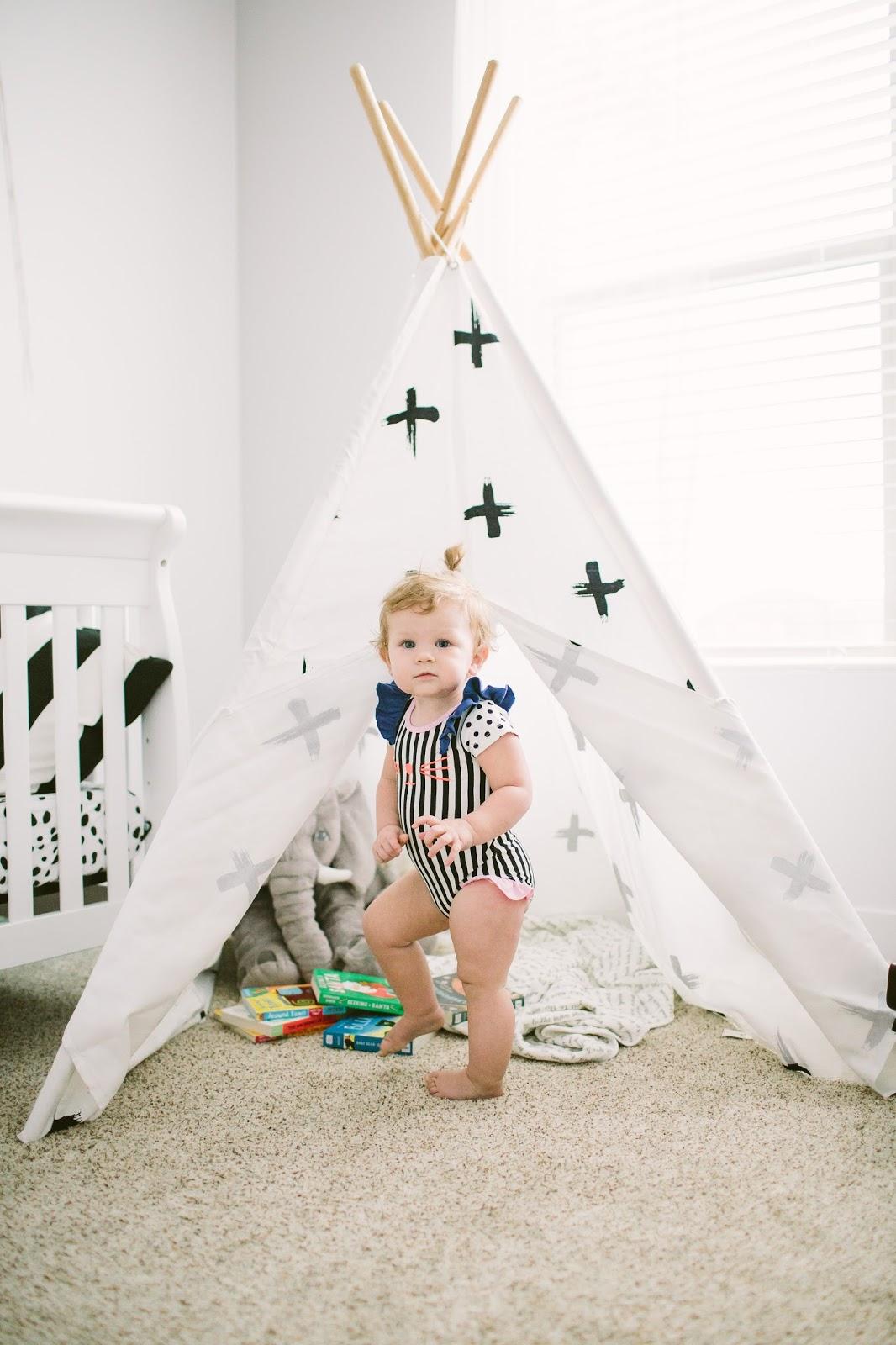 From the Avenue Teepee, Baby nursery, Baby teepee