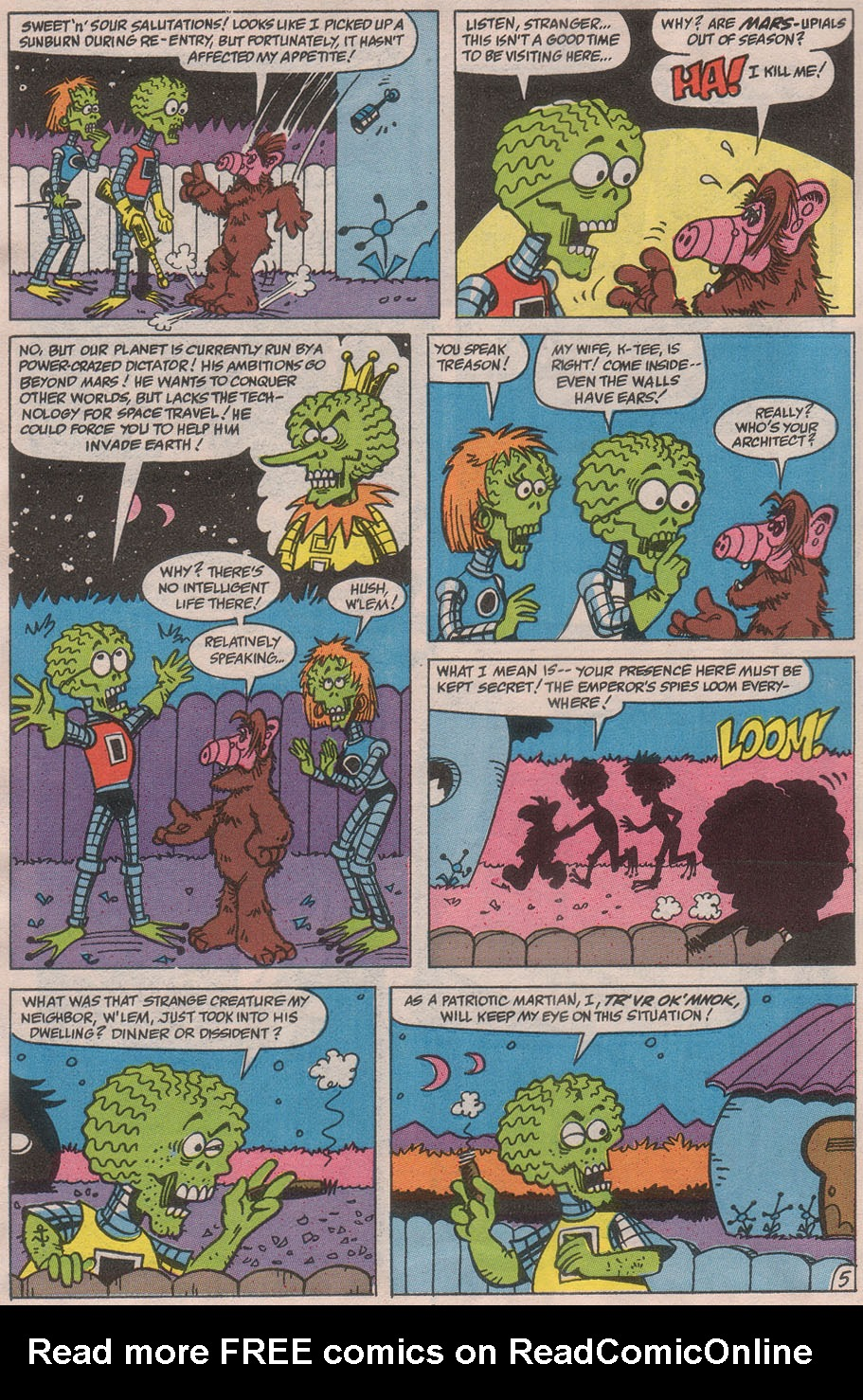 Read online ALF comic -  Issue #36 - 8