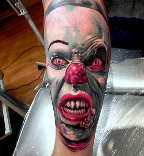 Esta é a gol bezerro de tatuagem