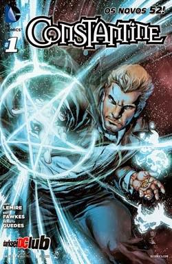 capa - HQ – Os Novos 52 Constantine