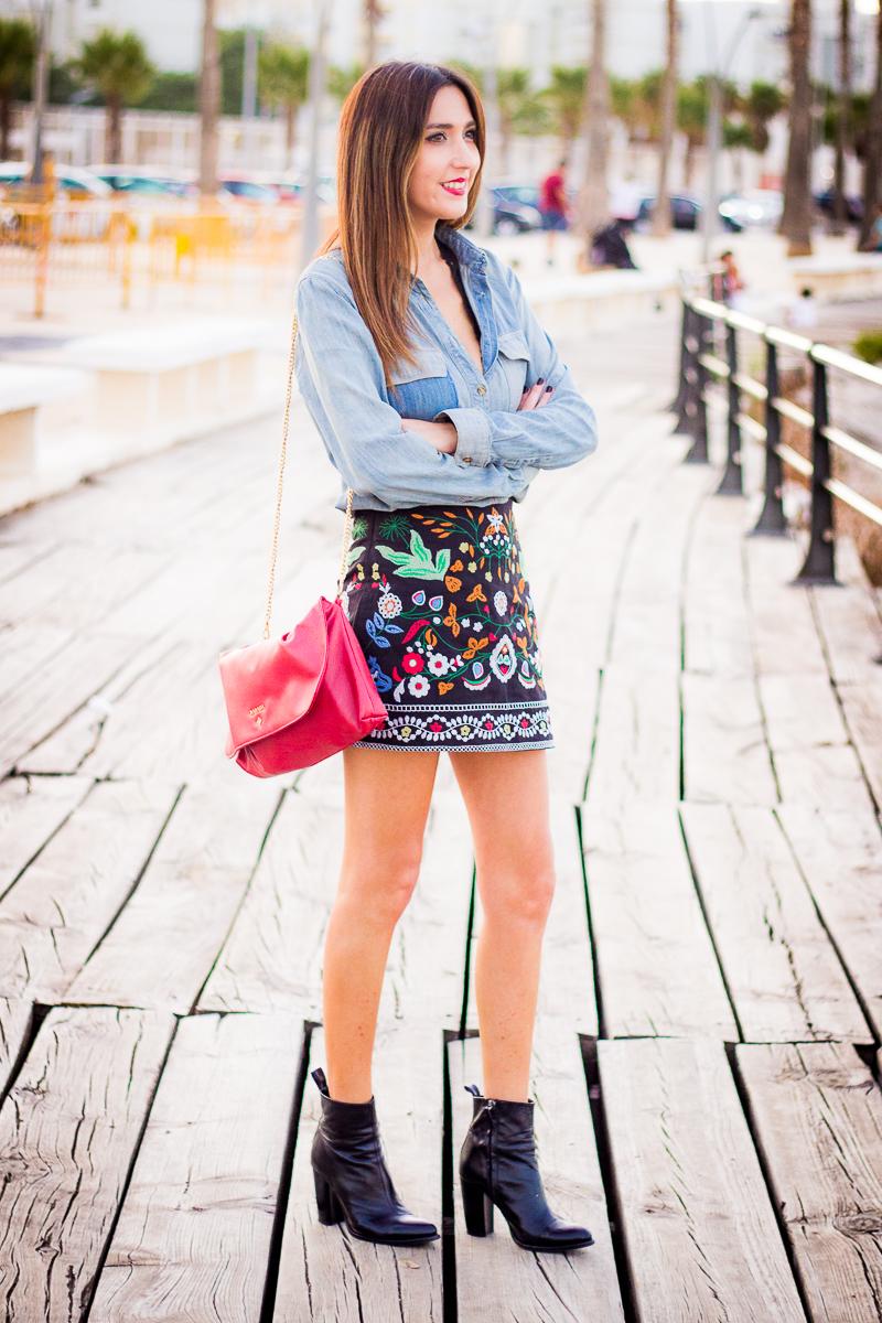 falda barroca