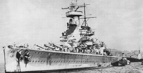 Los tripulantes del Graf Spee