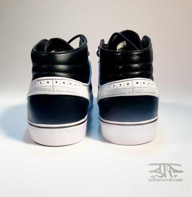 "eab76d24d0 Custom Kicks: Nike SB Zoom Stefan Janoski Mid ""Tuxedo ..."
