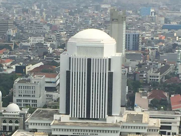 Tumpengan Sederhana untuk Peresmian Gedung PTTUN Jakarta