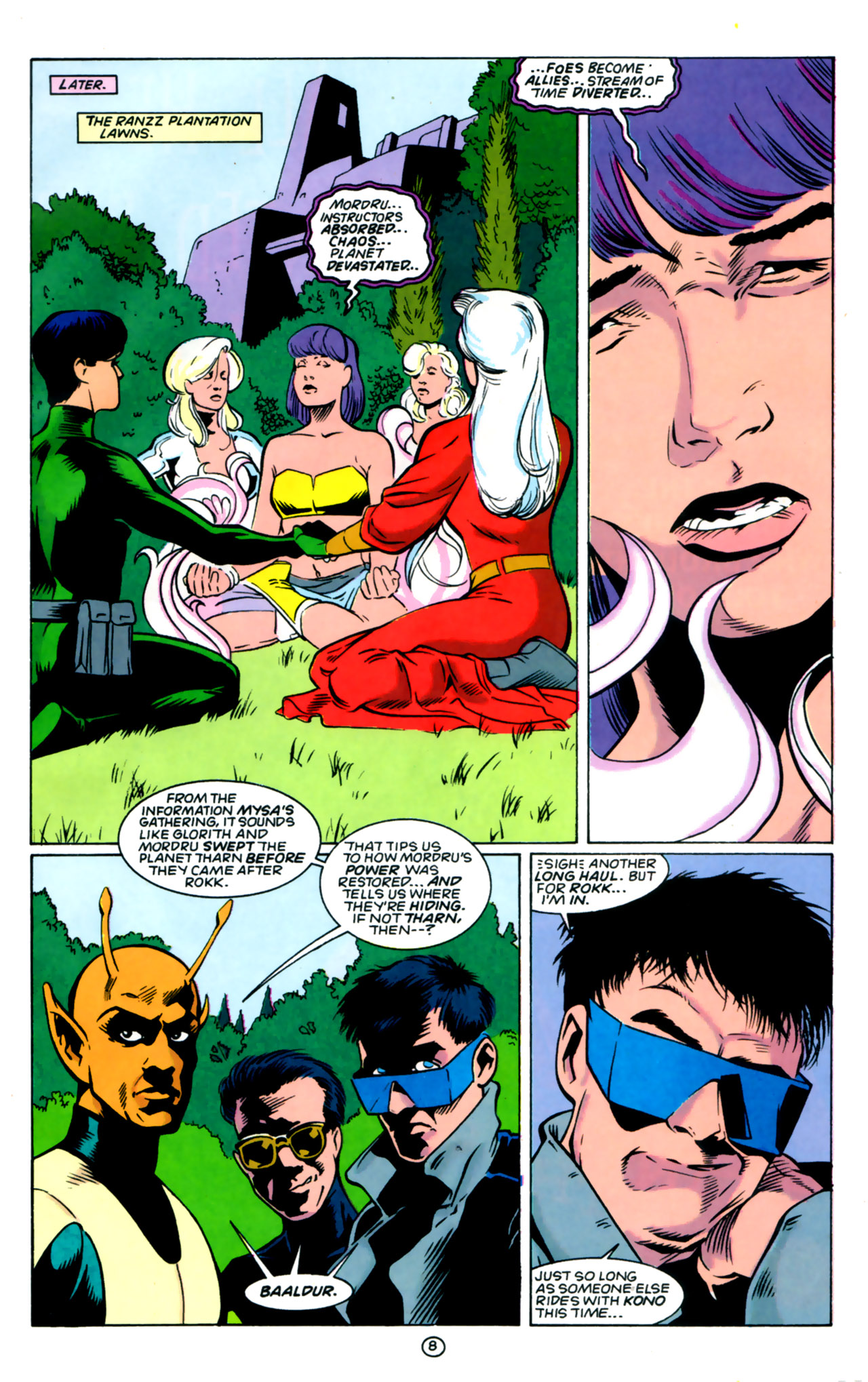 Legion of Super-Heroes (1989) 60 Page 8