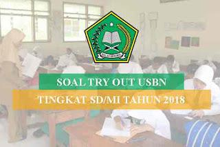 Try Out adalah kegiatan uji coba untuk mengerjakan soal mirip yang akan di ujikan pada uj Geveducation:  Soal Terbaru Try Out USBN SD/MI Kelas 6 (IPA, Matematika dan B. Indonesia) Tahun 2018