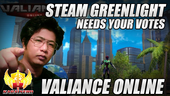 Valiance Online, STEAM Greenlight, Needs Your Votes