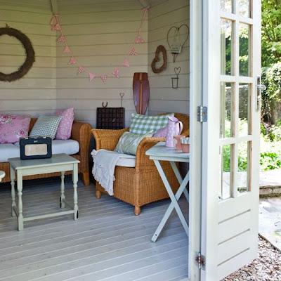 những ý tưởng cho căn nhà mùa hè