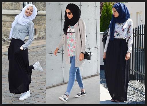 Fashion Hijab Untuk Anak Model Fashion Hijab Anak Muda Style Masa Kini Trend 2017