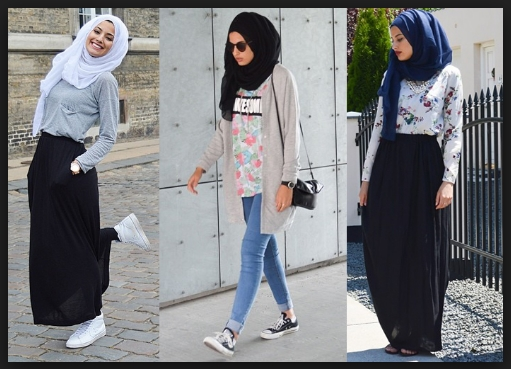 Model Fashion Hijab Anak Muda Style Masa Kini Trend 2017 Tutorial Style Hijab