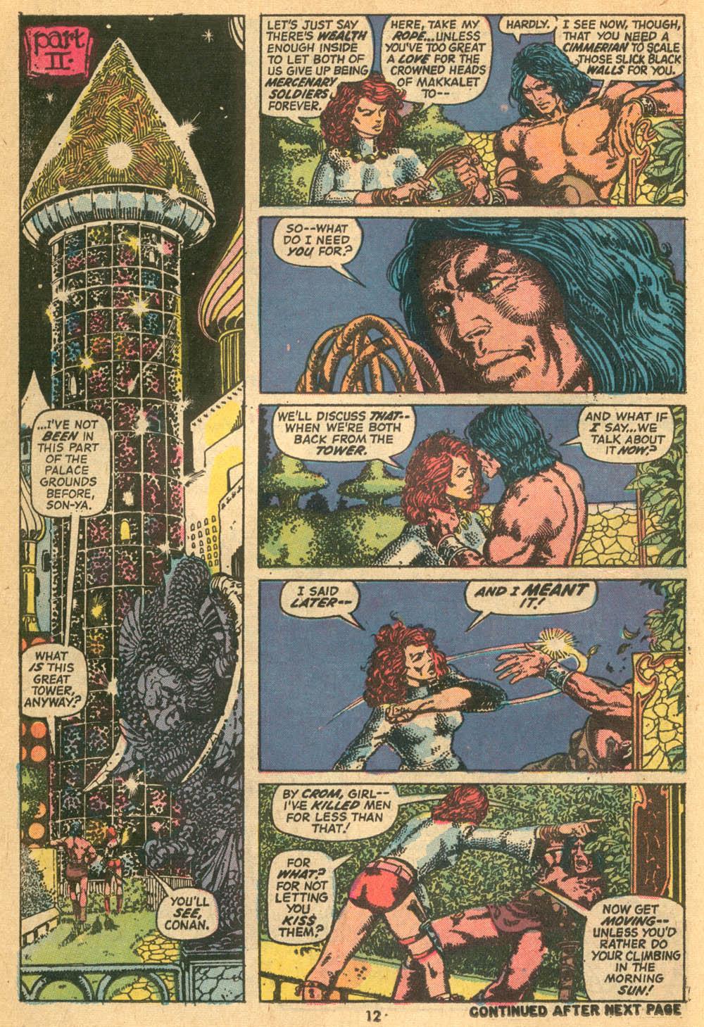 Conan the Barbarian (1970) Issue #24 #36 - English 10