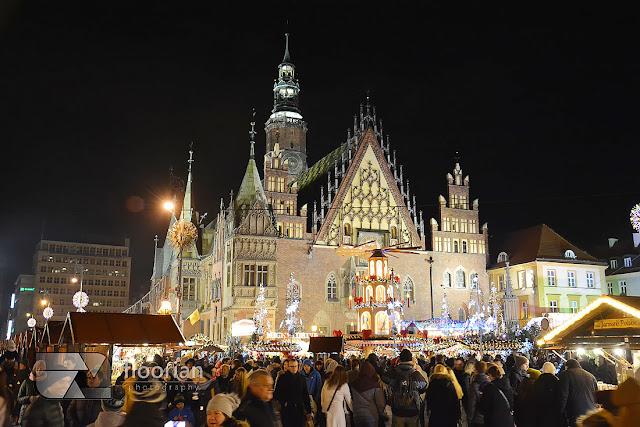 Jarmark Bożonarodzeniowy we Wrocławiu to jeden z najsłynniejszych i najpiękniejszych jarmarków w Europie