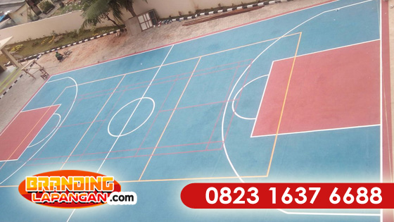 WA +62 823-1637-6688 (Telkomsel), Cat Lapangan Badminton
