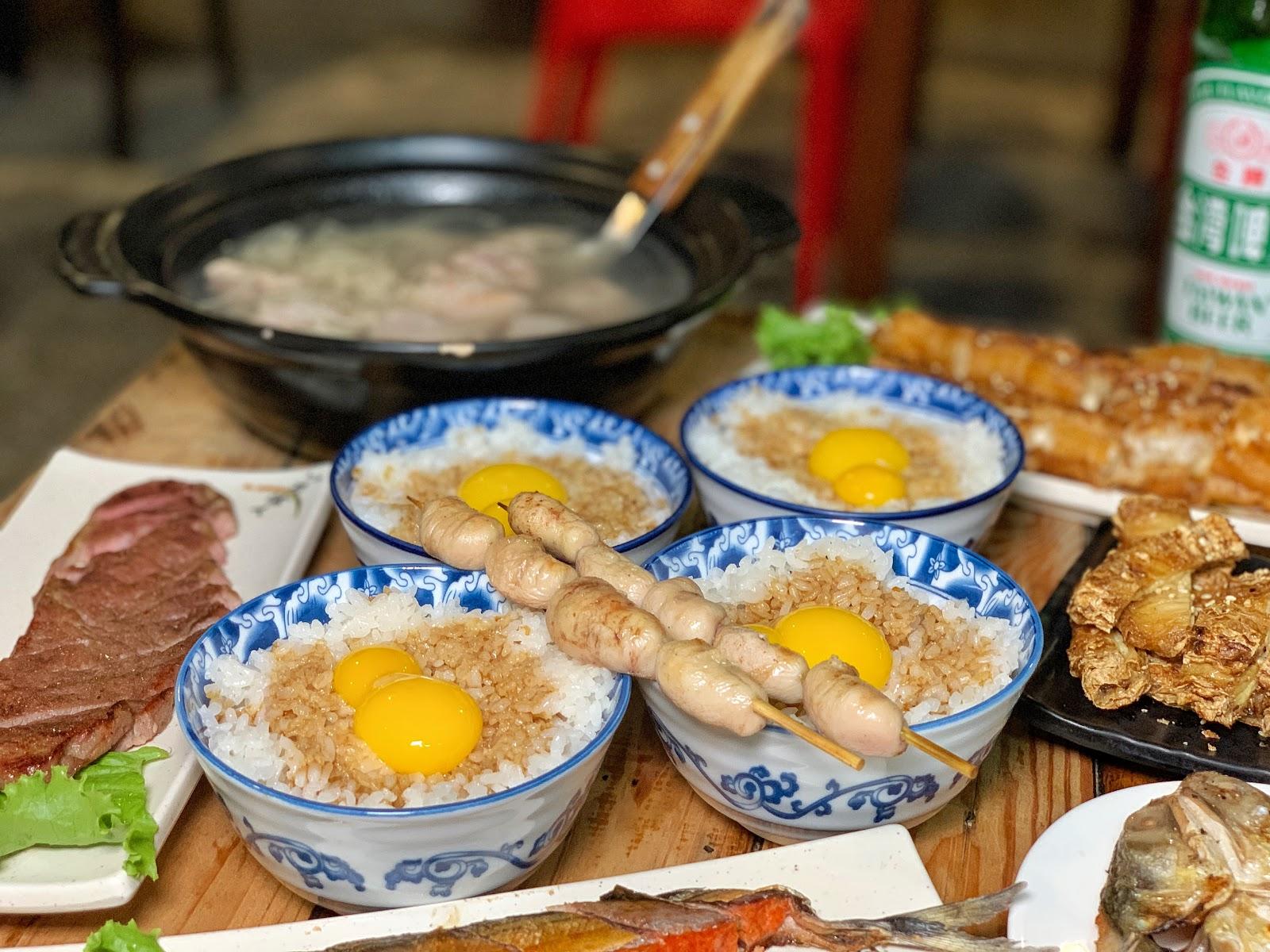 台南東區美食【府城騷烤家】炭烤雞佛