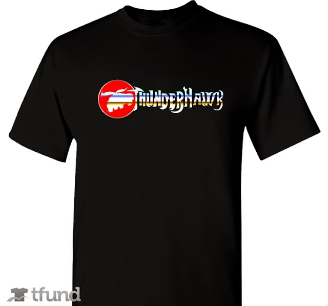 Check Out Our New Exclusive ThunderHawk Ho! Crowdfunded T-shirt