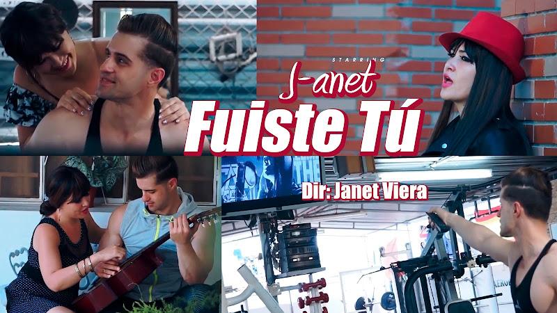 J-anet - ¨Fuiste Tú¨ - Videoclip - Dirección: Janet Viera. Portal del Vídeo Clip Cubano