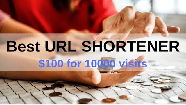 OMG! The Best URL SHORTENER Ever! {$100 for 10000 visits}