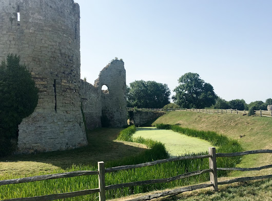 Pevensey Castle with Hastings Battleaxe