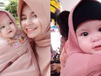 Naura Alaydrus, Bayi 1 Tahun Ini Jadi 'Buruan' Netizen Karena Hijabnya, 12 Foto Lucunya Gemesin Banget
