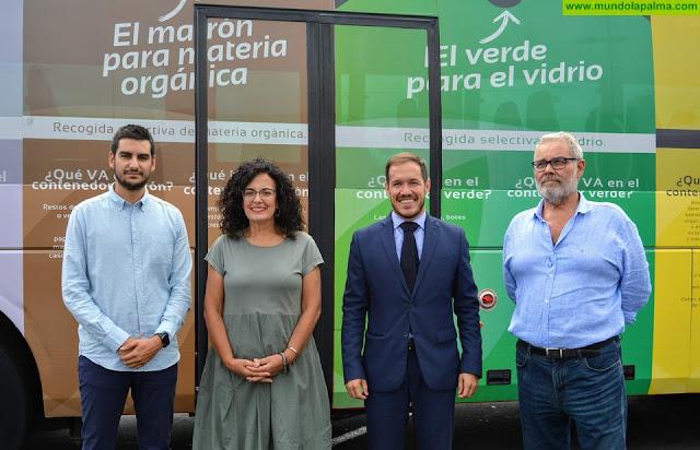 El Consorcio promueve una campaña en guaguas para pedir a la ciudadanía que recicle más