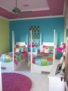 Dormitorios coloridos para dos hermanas dormitorios - Muebles en dos hermanas ...