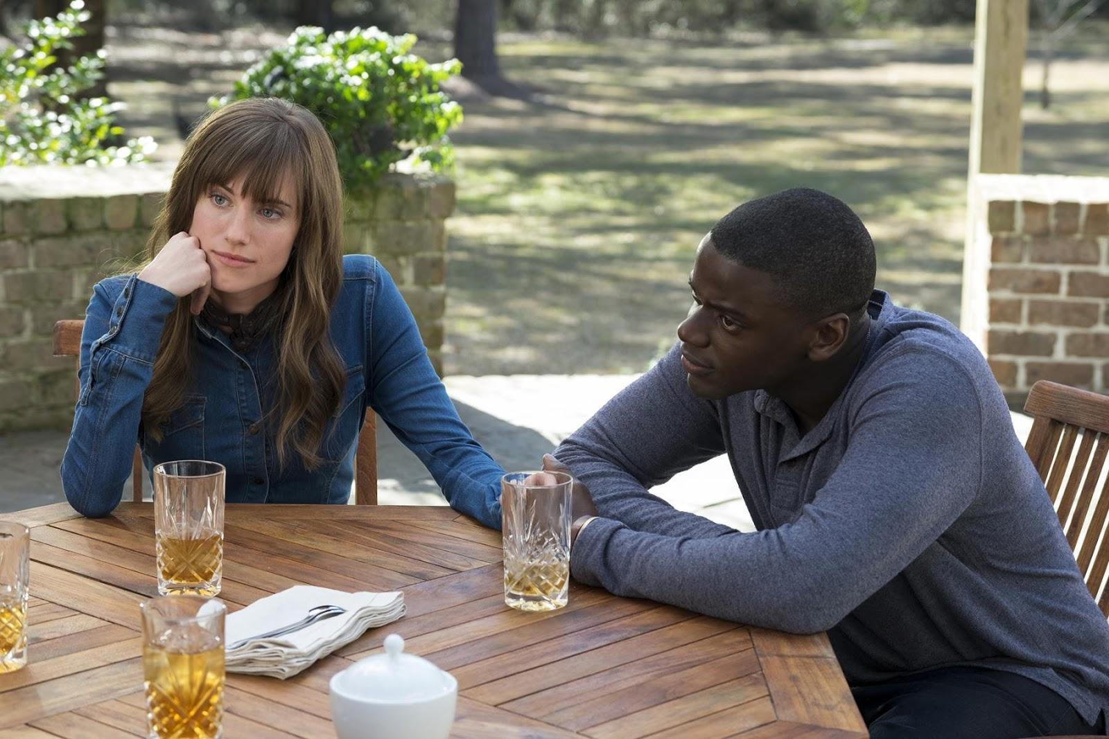 Déjame salir - película  - Daniel Kaluuya y Allison Williams