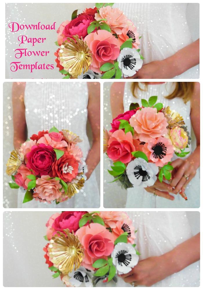 Paper flower design ideas abbi kirsten collections how to make paper flowers easy paper flower tutorial mightylinksfo