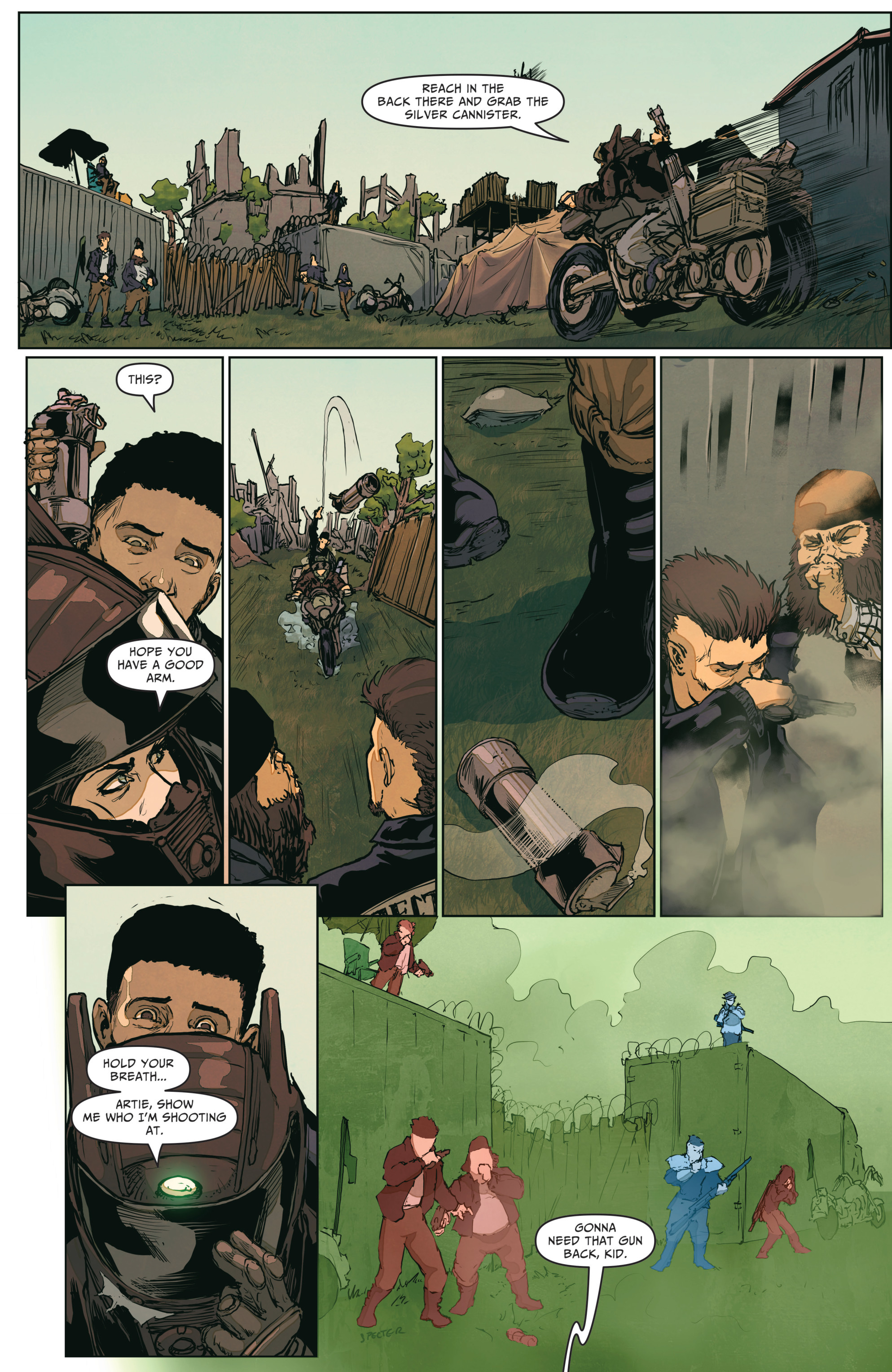 Read online The Courier: From the Ashes comic -  Issue #3 - 21