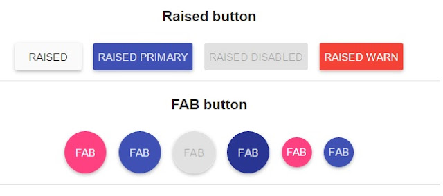 AngularJs Button example
