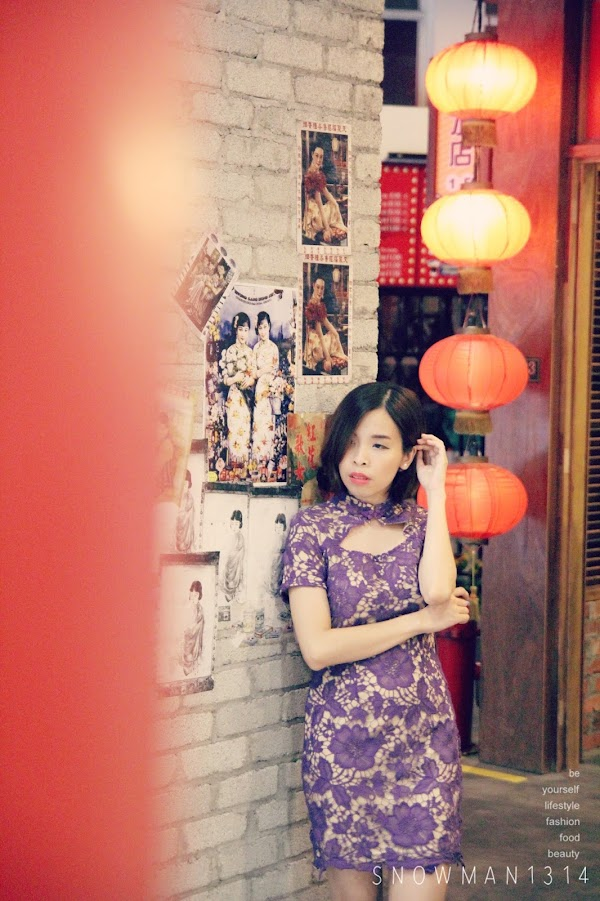 [Fashion] Festive Cheongsam Outfit #9