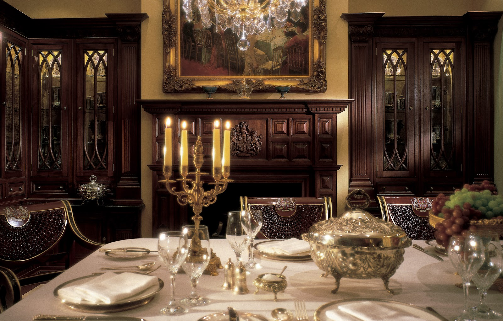 Luxurious Dining Rooms Tradition Interiors Of Nottingham Luxury Dining Room