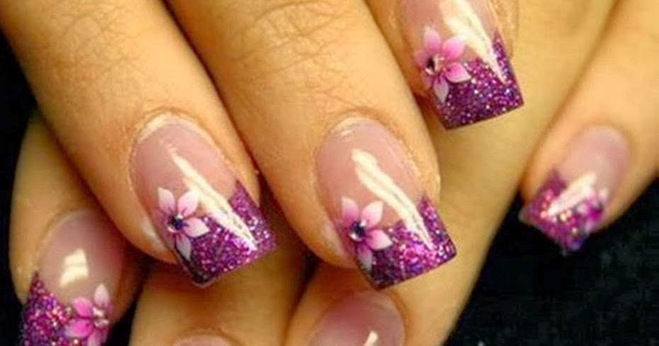How To Make Designs On Your Nails At Home