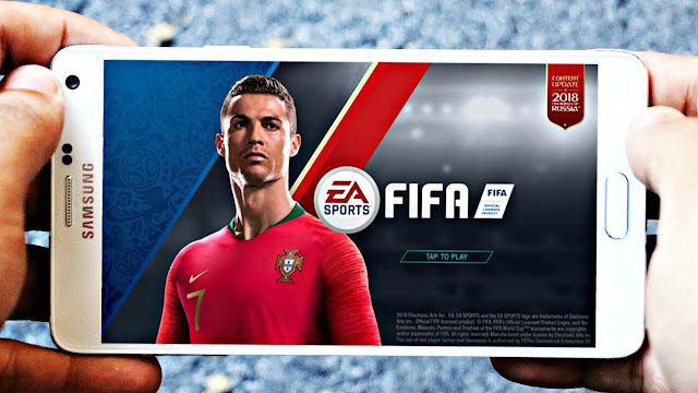 FIFA 18 Mobile MOD FTS 300 Mb World Cup Edition HD Graphics Android Offline