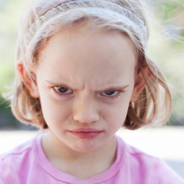 Angry Kids Faces You i...
