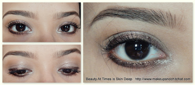 Lakme Absolute Illuminate and Shine Precision Eye Artist Liner Burnished Brown  swatches